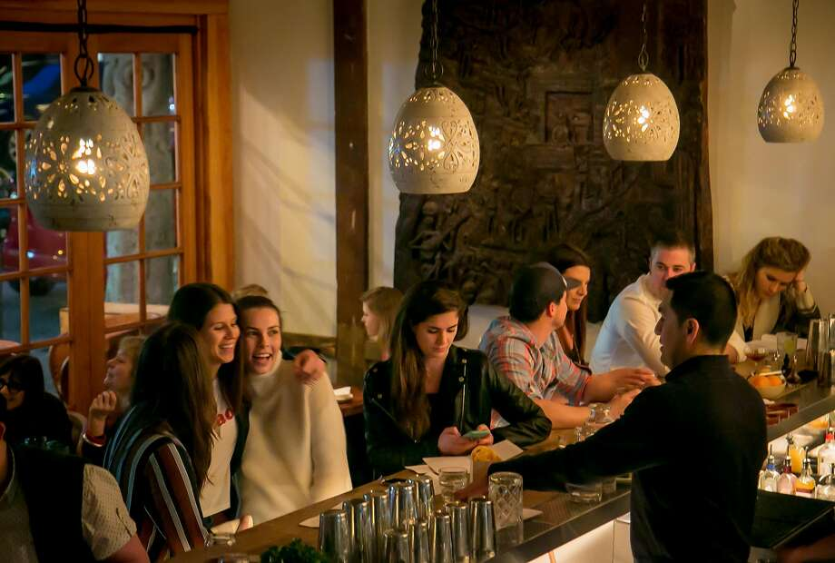 The bar at Flores in S.F. Photo: John Storey, Special To The Chronicle