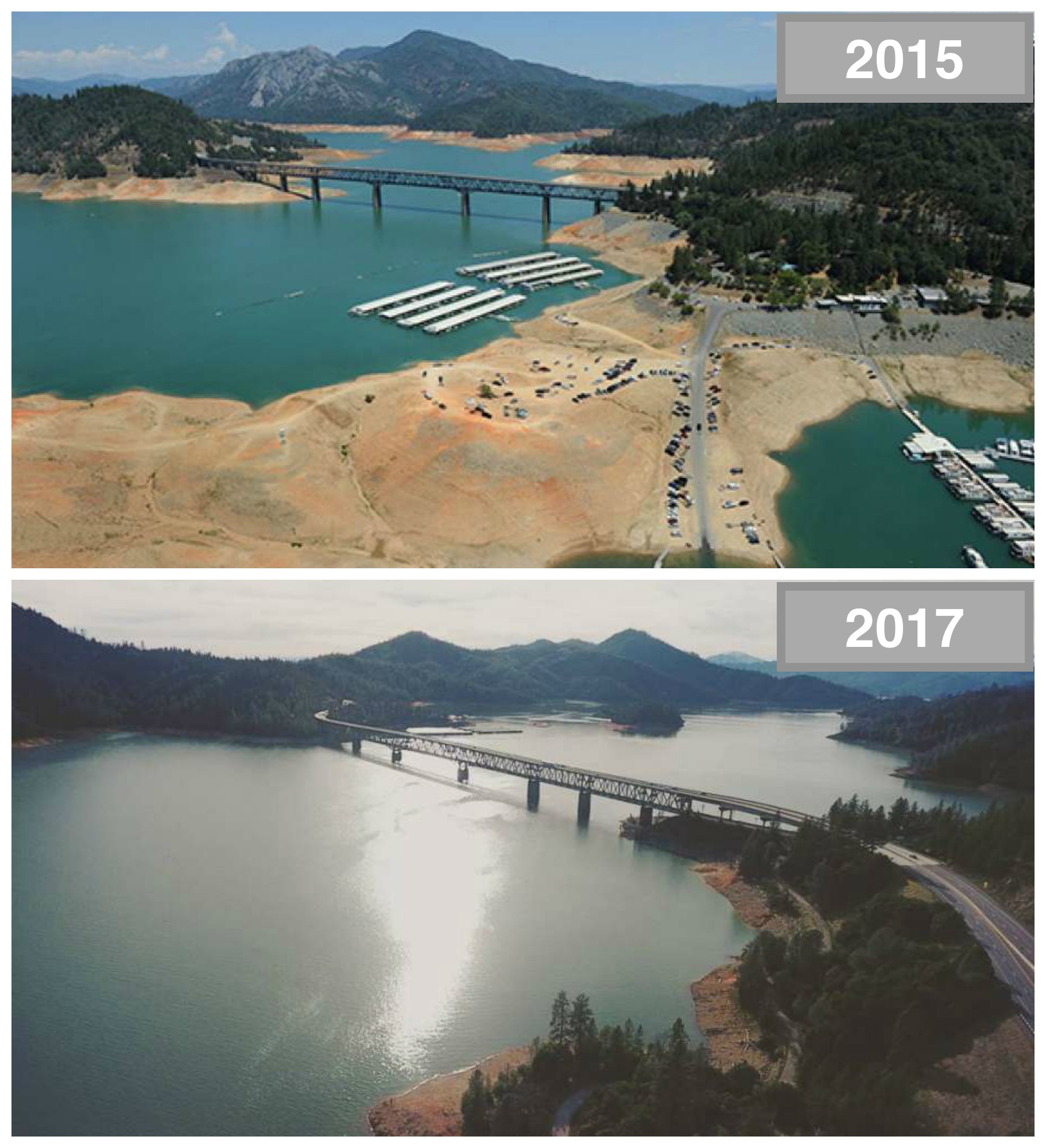 Shasta Dam sees biggest release in decades as reservoir nears
