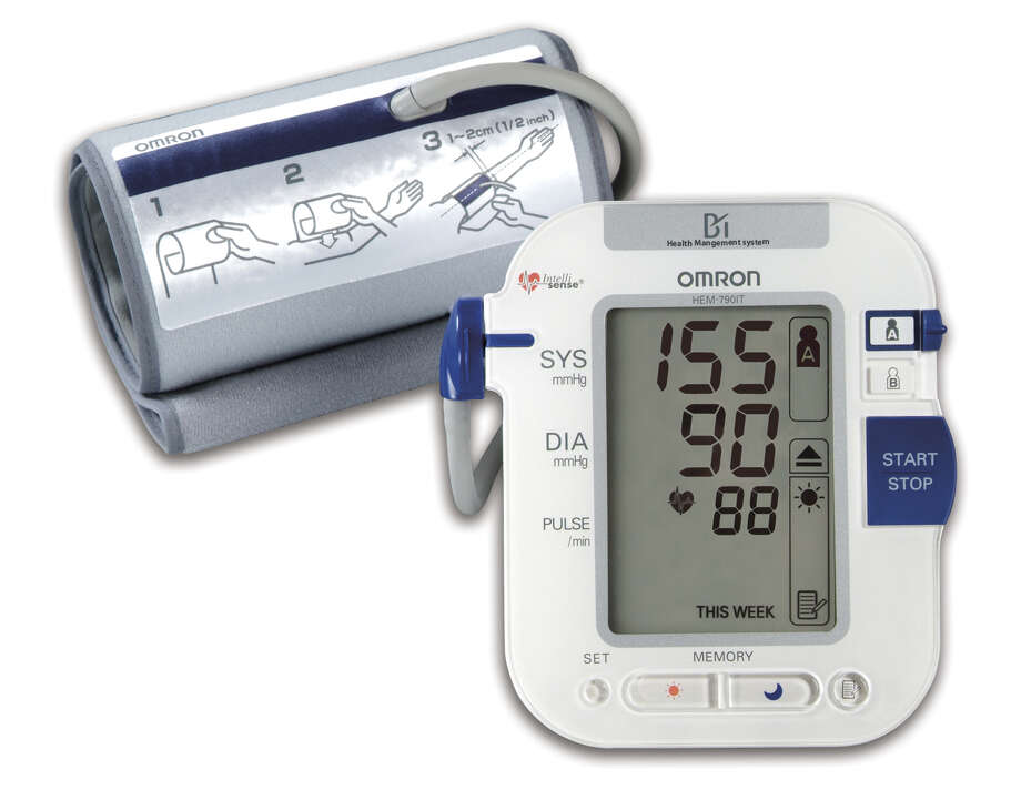 A blood pressure monitor may not seem like the most personal of gifts, but if someone on your list has high blood pressure, Omron's HEM-790IT is the only model of its kind to detect morning hypertension, which triples your risk of stroke. Cost $119.99. / handout email / Diane Cowen