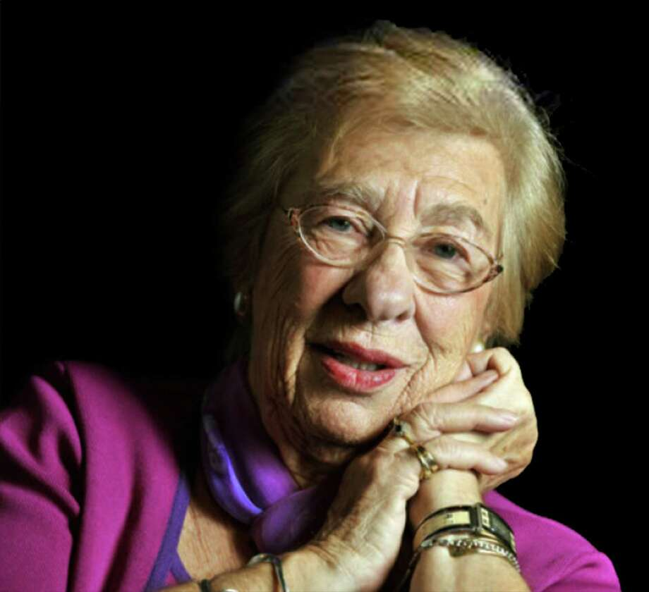 Eva Schloss didn't share her story for more than 40 years - even to her husband and daughters. Photo: Courtesy Photo