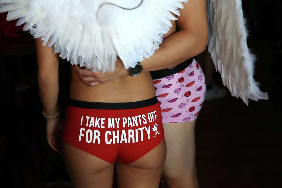 Scenes from Cupid's Undie Run, an annual fundraiser for The Children's Tumor Foundation and neurofibromatosis research, at Art Marble 21 in Seattle, Saturday, Feb. 11, 2017. Photo: GENNA MARTIN, SEATTLEPI.COM / SEATTLEPI.COM