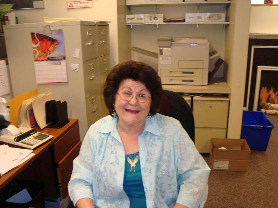 After working for 15 years as an employee of the Town of Fairfield, Kathy Polifka, of Fairfield, retired on Friday, May 28, 2010. Photo: Contributed Photo / Joseph DiMasi / Fairfield Citizen