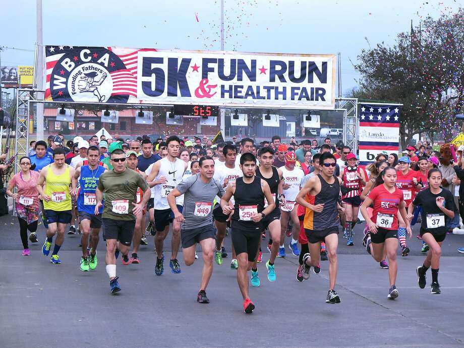 The Laredo Medical Center hosted the WBCA Founding Fathers' 5K Fun Run and Health Fair, Saturday, February 11, 2017 at the Laredo Medical Center. Photo: Cuate Santos / Laredo Morning Times / Laredo Morning Times