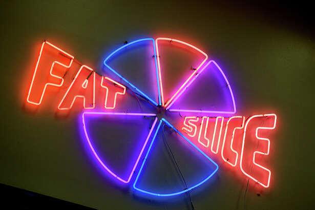 Fat Slice Pizza in Berkeley.