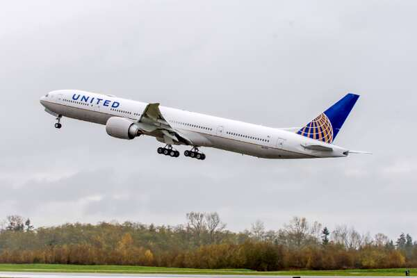 United's first Boeing 777-300ER with Polaris seats goes into domestic service this week (Photo: United)