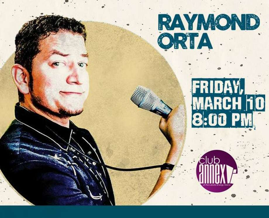Comedians Raymond Orta will bring his act to Laredo on Friday, March 10, performing at Club Annex located inside the Laredo Energy Arena. Photo: Courtesy Photo
