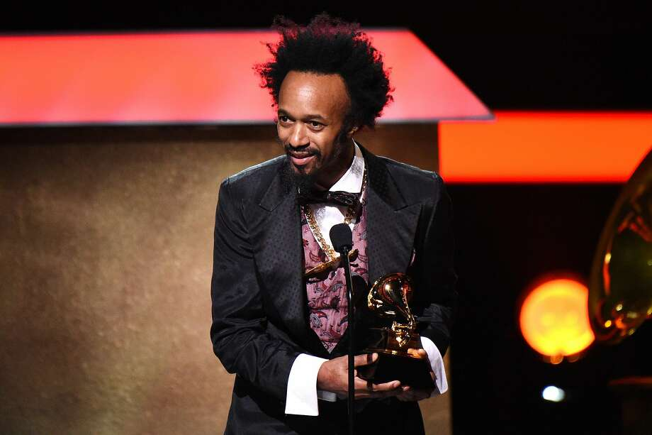 LOS ANGELES, CA - FEBRUARY 12:  Singer-songwriter Fantastic Negrito accepts the award for Best Contemporary Blues Album onstage at the Premiere Ceremony during The 59th GRAMMY Awards at Microsoft Theater on February 12, 2017 in Los Angeles, California.  (Photo by Kevork Djansezian/Getty Images) Photo: Kevork Djansezian, Getty Images
