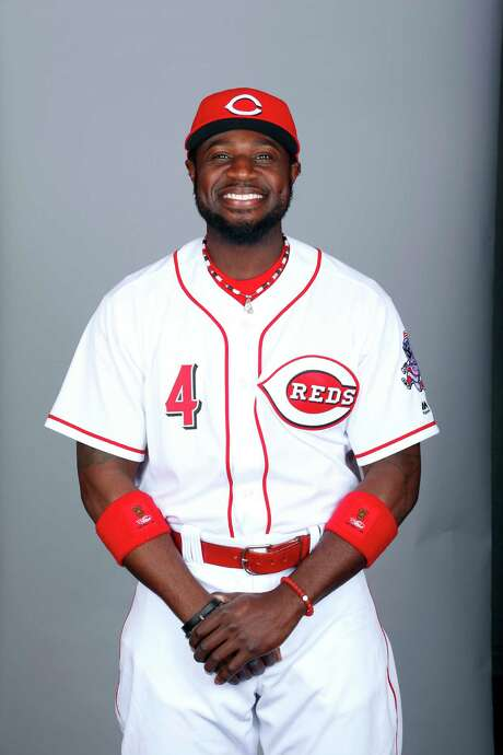 GOODYEAR, AZ - FEBRUARY 24:  Brandon Phillips #4 of the Cincinnati Reds poses during Photo Day on Wednesday, February 24, 2016 at Goodyear Ballpark in Goodyear, Arizona.  (Photo by Jason Wise/MLB Photos via Getty Images) *** Local Caption *** Brandon Phillips Photo: Jason Wise, Stringer / 2016 Major League Baseball Photos
