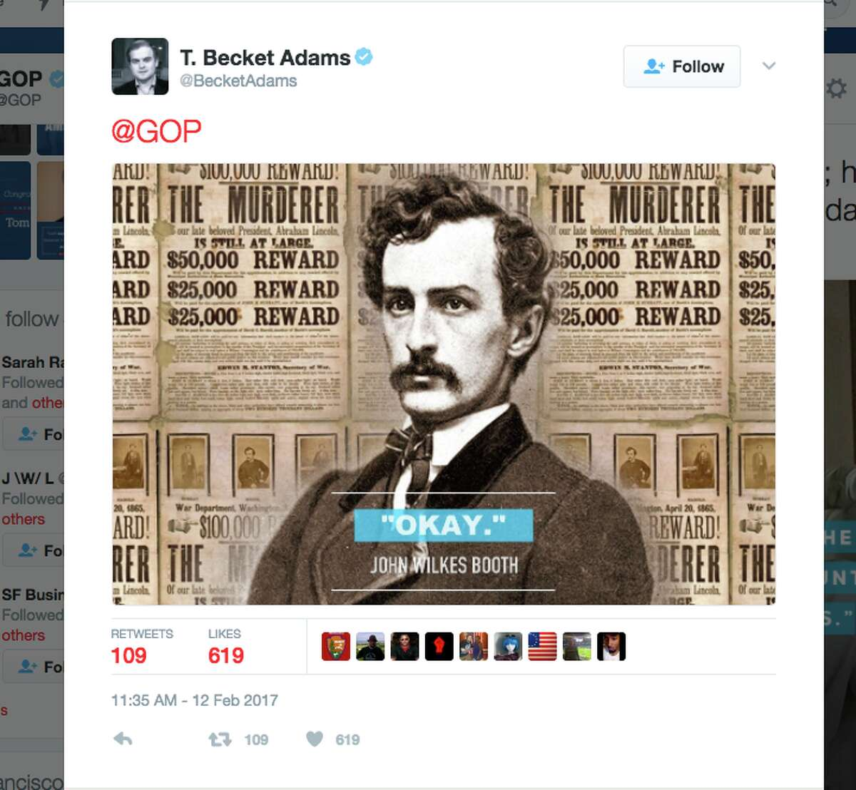 Twitter users supply incorrect quotes of Abraham Lincoln (and others) after the GOP sent out a tweet using a quote that is often attributed - but never proven - to Lincoln.