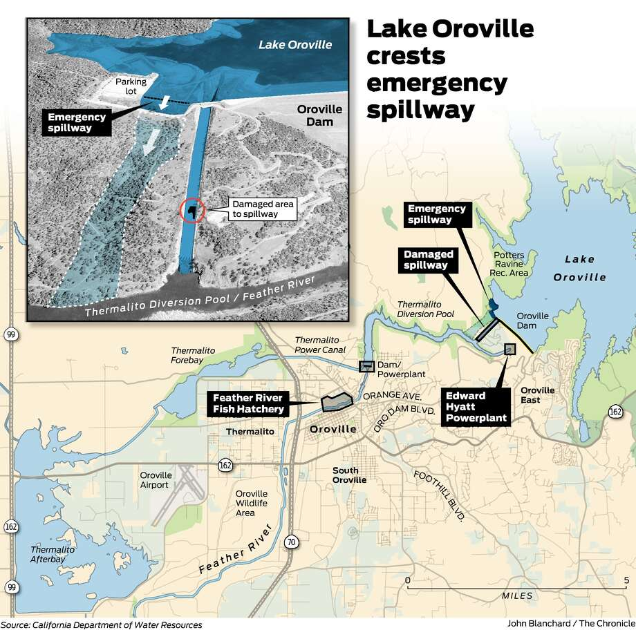 Map Of California Oroville Dam.The Oroville Dam Crisis Explained What You Need To Know Sfgate