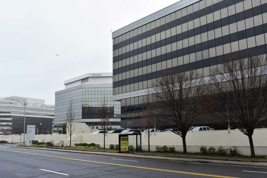 The future Norwalk offices of Aon Hewitt at 201 Merritt 7 in Norwalk, Conn., photographed in January 2017. Photo: Alexander Soule / Hearst Connecticut Media / Stamford Advocate