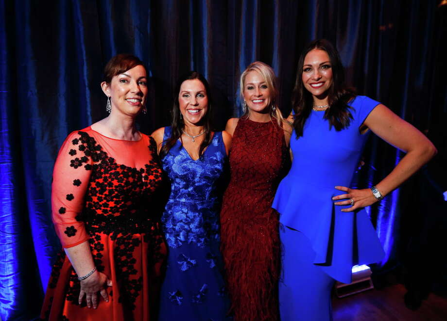 Shannon Beirne Wiesedeppe, Jennifer Scheifley Roberts, Amy Dunn and Beth Zdeblick Photo: Annie Mulligan, Annie Mulligan / For The Houston Chronicle / @ 2017 Annie Mulligan & the Houston Chronicle