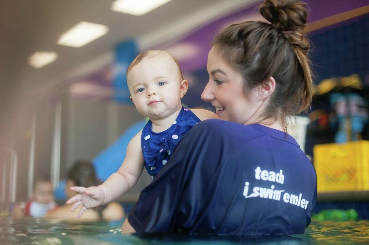 An Emler Swim School facility in Fort Worth. The company has signed leases in Houston for the first area locations in shopping center in southwest Houston and Clear Lake.