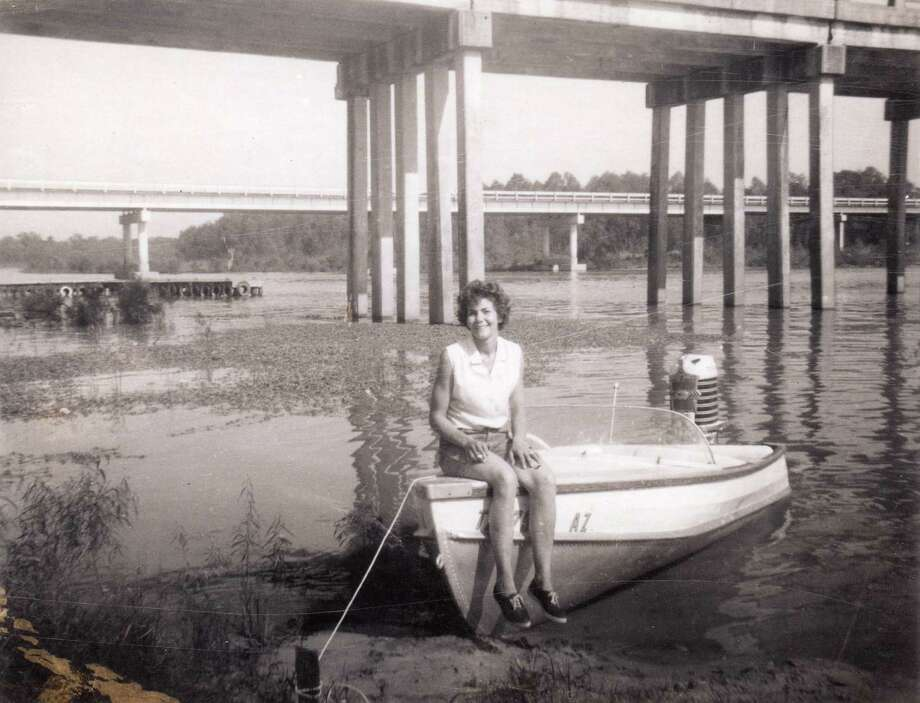 A popular camping area and public pier that was near where the paper mill's waste ponds were located back  in the 1960s - a Superfund site today. Photo: Korenele Family Photos / Korenele family photos