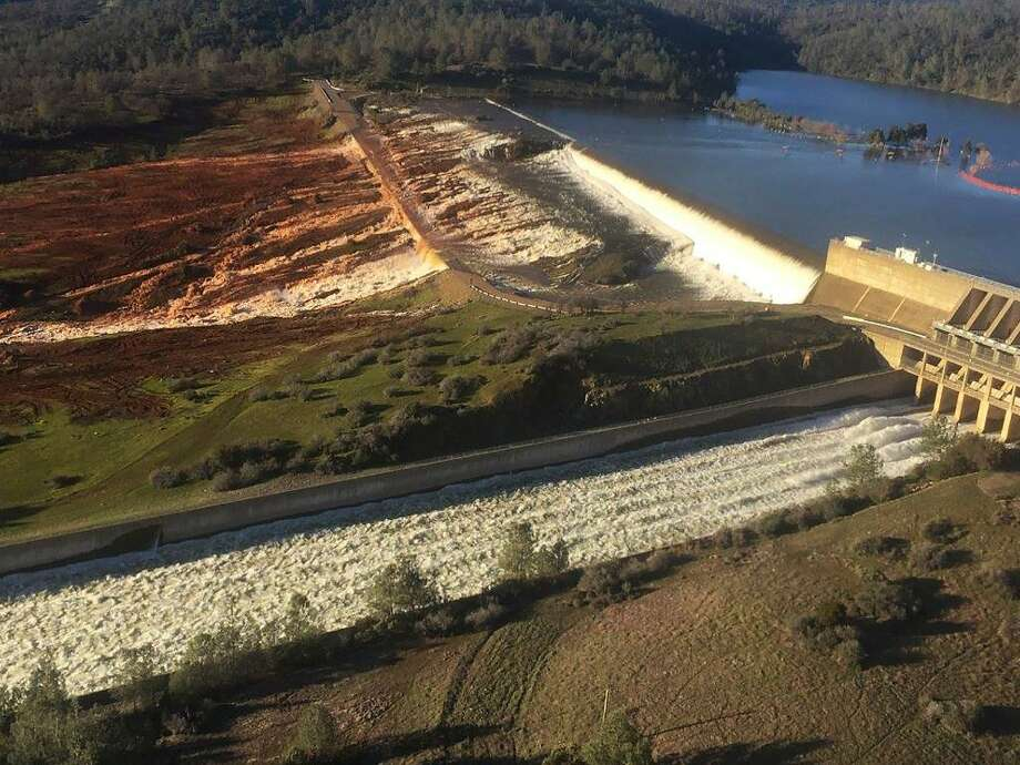 Work On Oroville Emergency Spillway Continues, Evacuation Orders Still In Place
