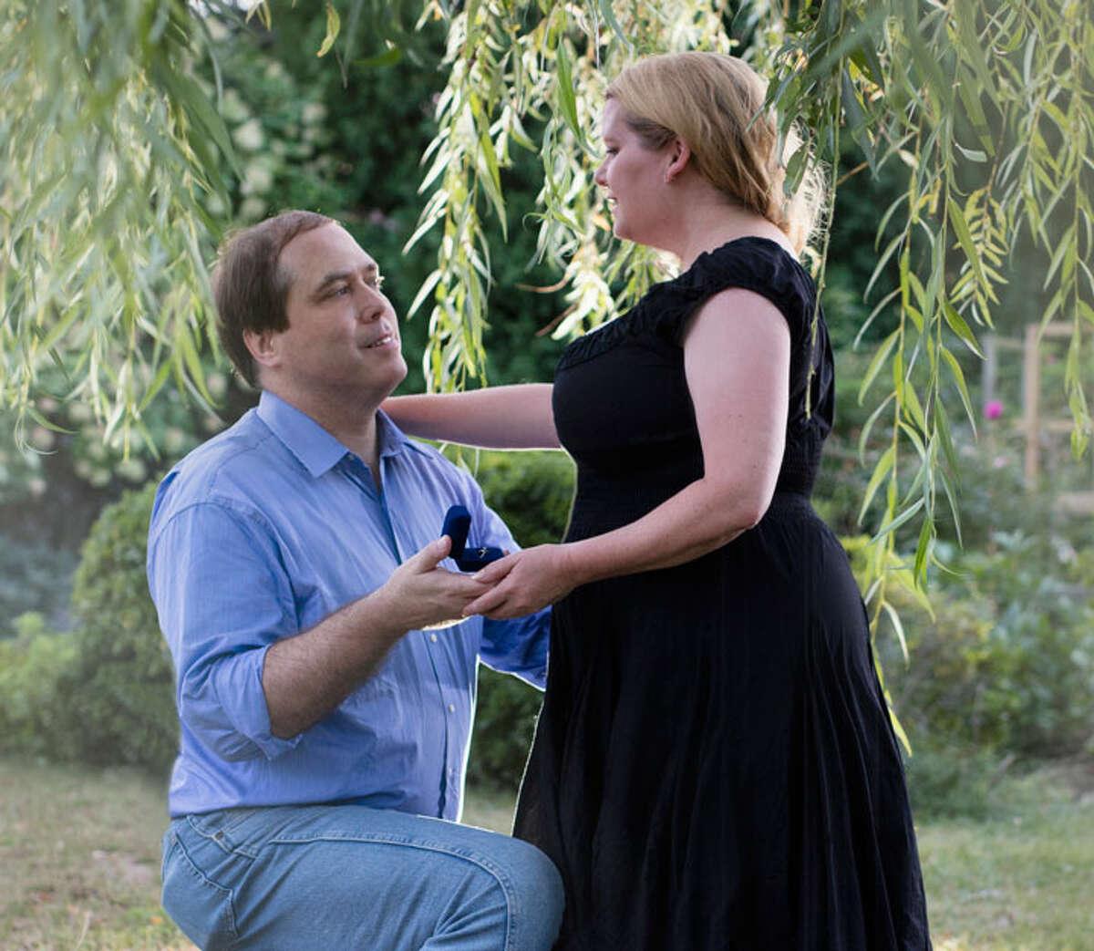 Catherine Fiehn Malat and Eric LeStrange