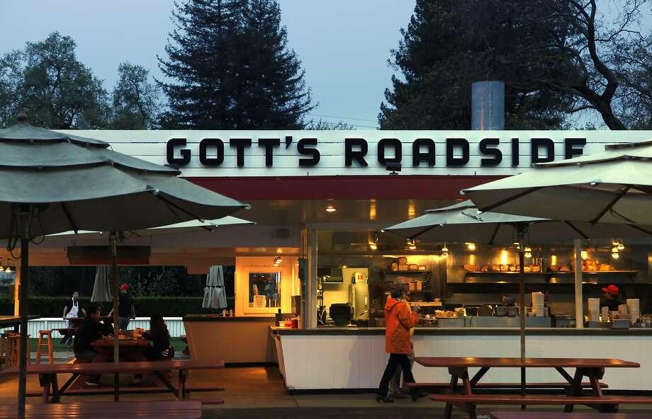 The original Gott's (fka Taylor's) in St. Helena. Photo: Carlos Avila Gonzalez, The Chronicle