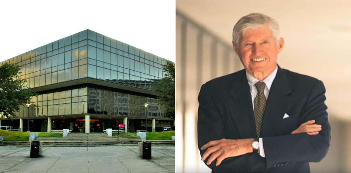 Bauer College of Business- Universityof Houston Named after:Ted Bauer Bio:Ted Bauer was the co-founder of Houston-based Aim Management Group. He served as chairman of the mutual fund management group between 1976 and 2001. During his tenure, he built up the company to become the seventh-largest of its kind. He was not a UH alumnus, but a Harvard college and New York University graduate. When and why:In 2000,Bauer donated $40 million to the University of Houston's College of Business Administration, the largest donation in the school's history. The donation was predominately used to recruit faculty. Source:The Legacy of Ted Bauer