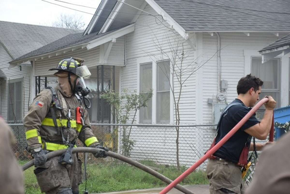 Firefighters responded to a Southeast Side house fire around 2:50 p.m. on Monday, Feb. 13, 2017, in the 200 block of West High Avenue.