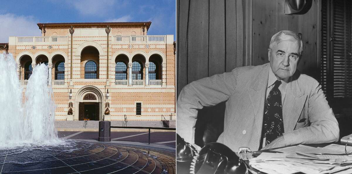 Who Texas' schools are named after Texas universities have a rich history of persons who have contributed to their greatness. Click through to see who Texas' most famous colleges are named after.