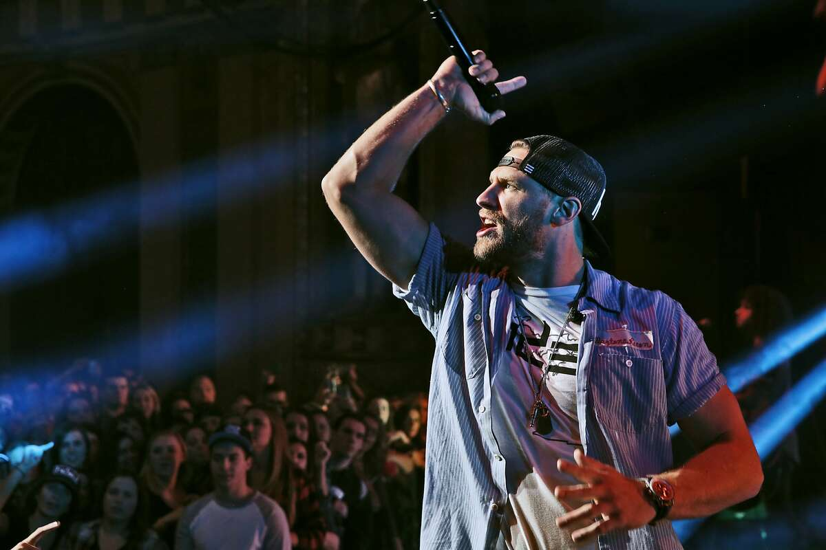 Country star Chase Rice performs at Ives Concert Park in Danbury on Friday, May 6.