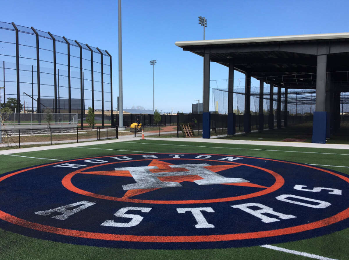 A look at the Astros' new spring training complex in West Palm Beach, Fla.