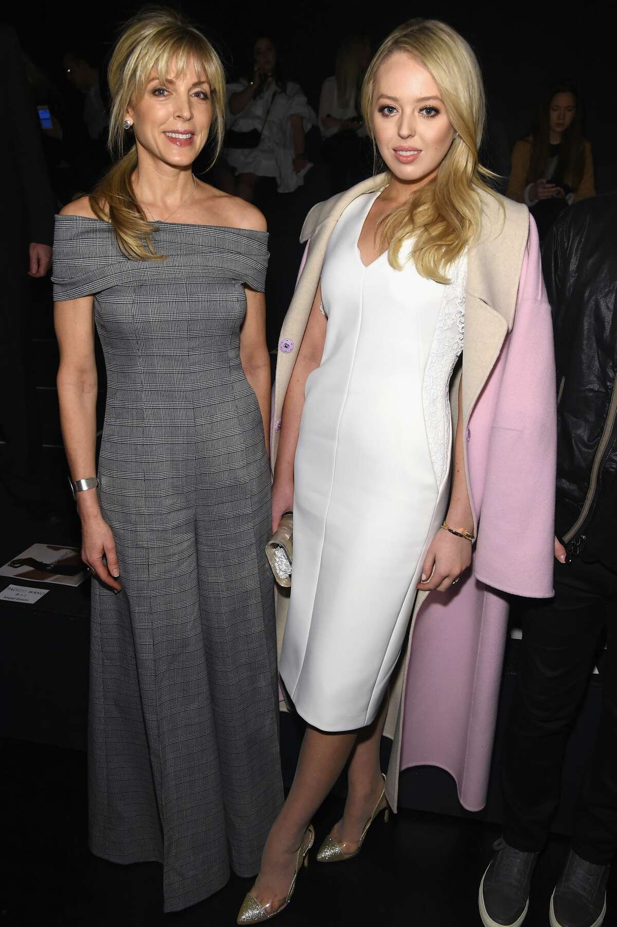 Marla Maples and Tiffany Trump attend the Taoray Wang collection. >>Keep clicking for more of the best and worst dressed celebs