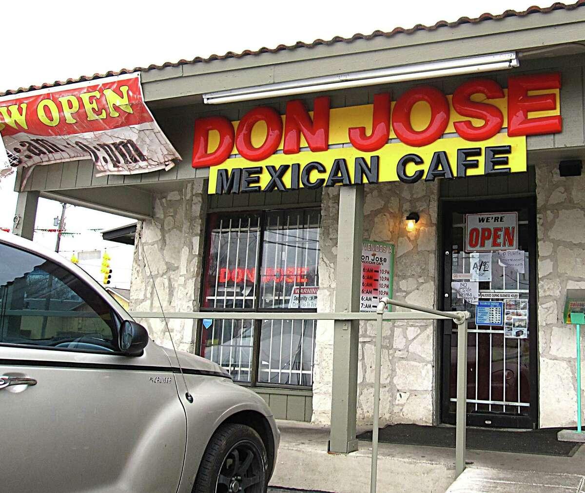 Don Jose Mexican Cafe on Pleasanton Road.