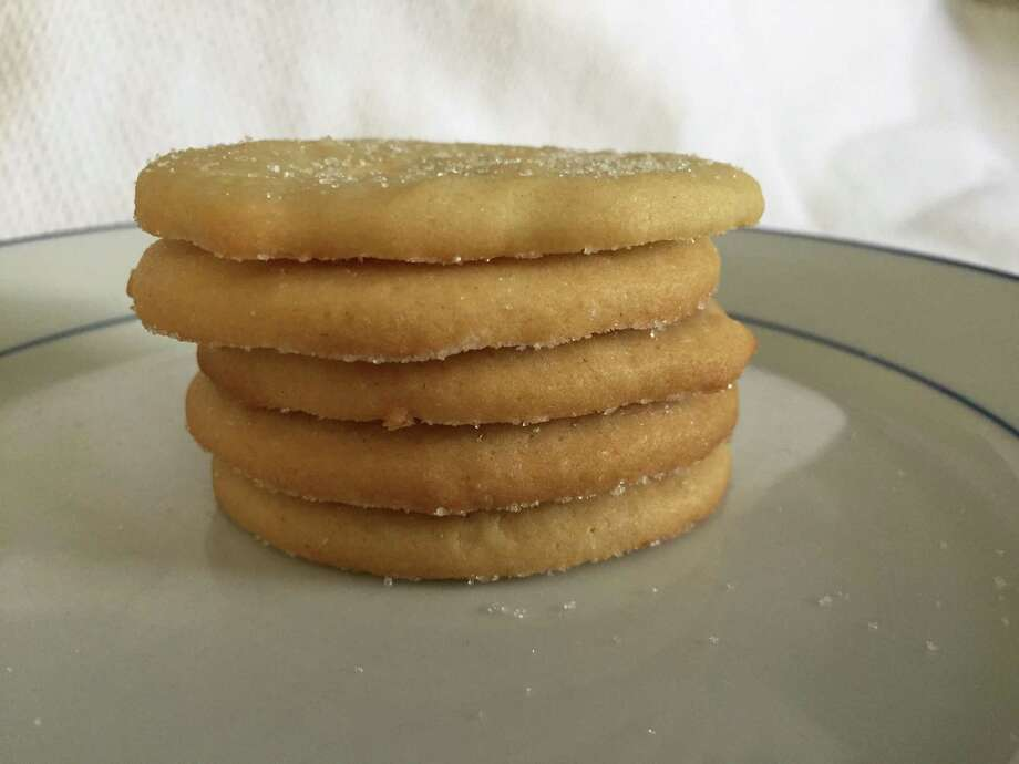 The original recipe for Girl Scout Cookies was published in 1922, and is a basic sugar cookie. Photo: Edmund Tijerina /San Antonio Express-News / San Antonio Express-News