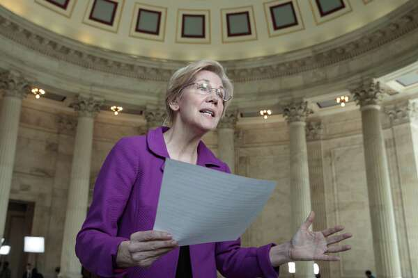 Sen. Elizabeth Warren, D-Mass., reacts to being rebuked by the Senate leadership and accused of impugning a fellow senator, Jeff Sessions, R-Ala., during his confirmation hearing for attorney general. A reader is dismayed by the censure.