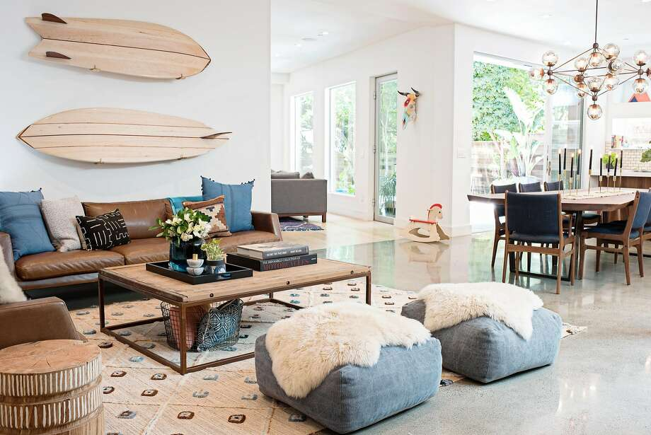 Surfboards make a personal statement. Photo: Sarah Hebenstreit, Modern Kids Co.