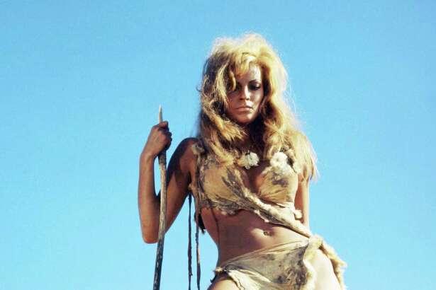 "Raquel Welch was a woman of few words as Loana in ""One Million Years B.C."""