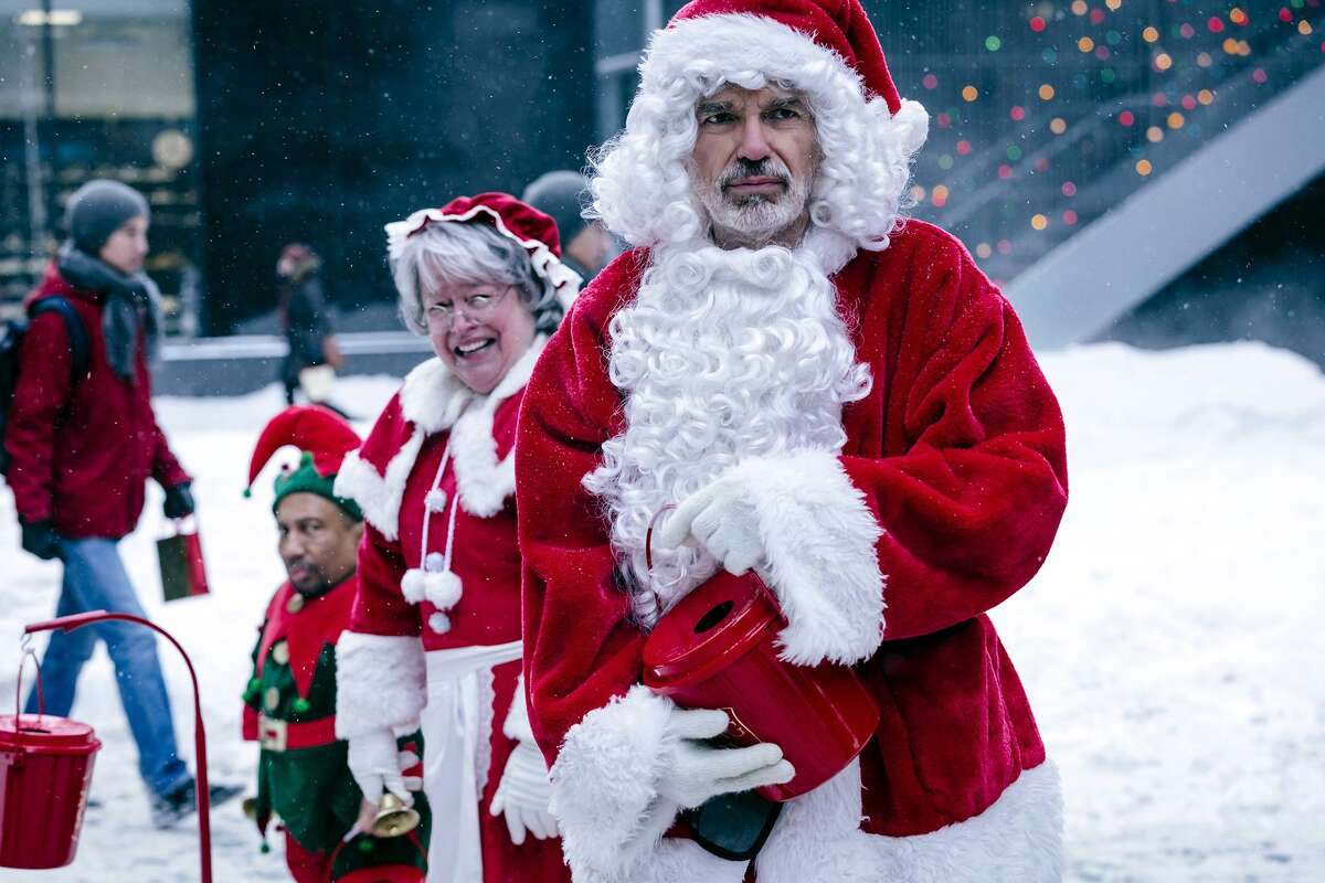 Bad Santa (2003) Available on Netflix Aug. 1A miserable conman and his partner pose as Santa and his Little Helper to rob department stores on Christmas Eve.