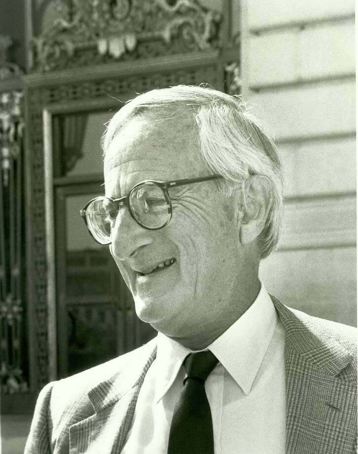 Roger Boas, a longtime San Francisco supervisor, mayoral candidate and the city's chief administrative officer died on Friday February 10, 2016. He was 95. Courtesy Nancy Boas / Nancy Boas