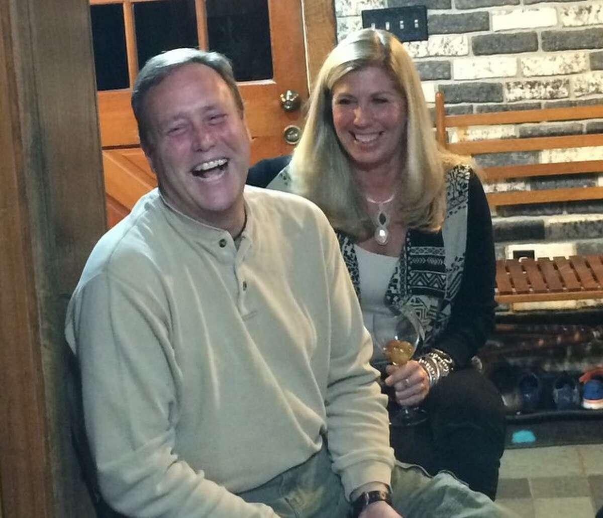 Eric Shilling and Lauren Cavanaugh (Courtesy Lauren Cavanaugh)