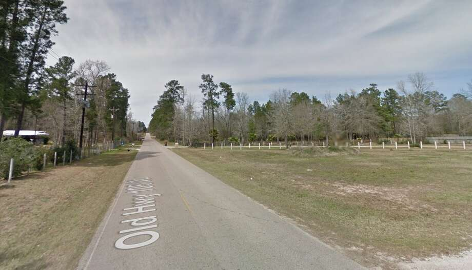 An 11-year-old girl escaped a would-be kidnapper on Sunday, Feb. 12, 2017, in the 5300 block of Old Highway 105 in Conroe. Photo: Google Earth