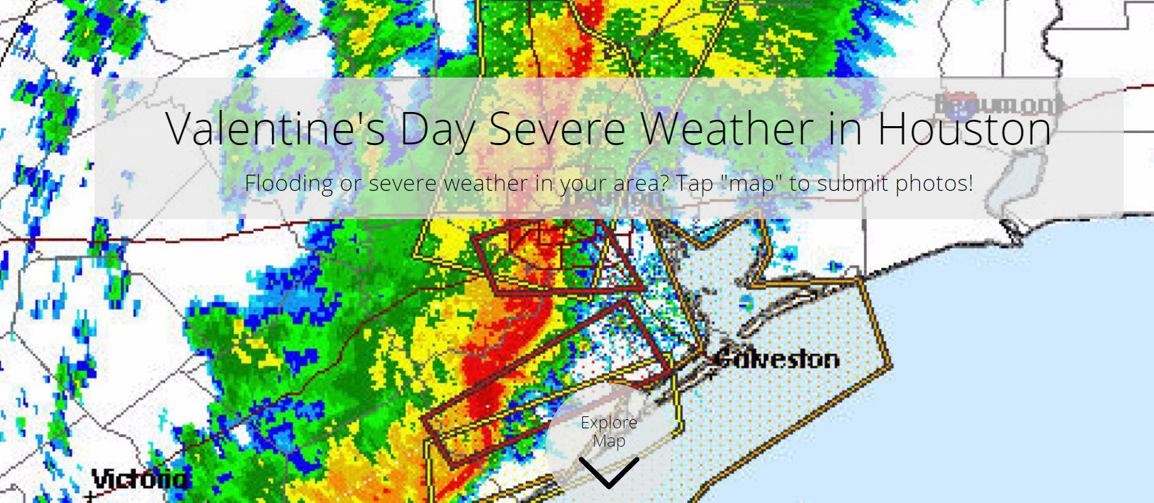 submit your severe weather photos to our interactive map