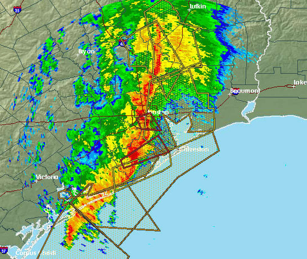 Heres Where The Valentines Day Tornadoes Hit The Houston Area - Us weather service map