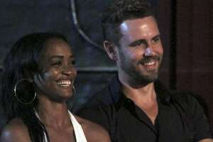 Rachel Lindsay, a Texas attorney, and current contestant on Nick Viall's  The Bachelor , will be announced as the next Bachelorette on Monday's  Jimmy Kimmel Live!