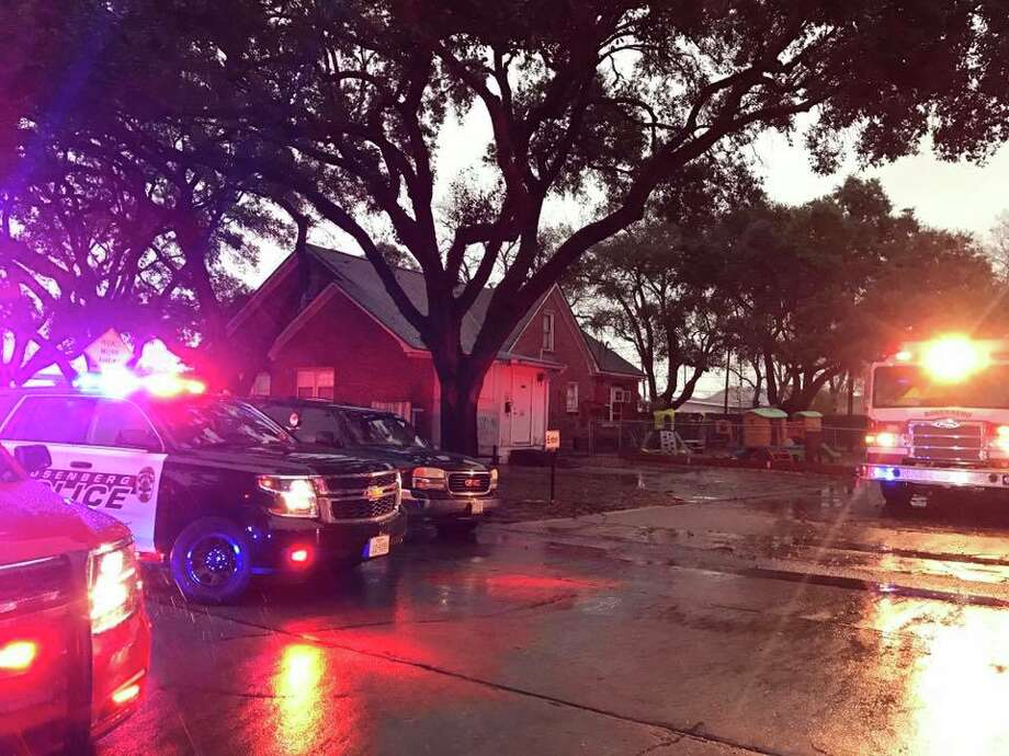 Emergency crews were investigating reports of a fire at the Lucy's Legacy Child Care Center at 3200 Avenue I,Rosenberg police posted on Facebook at about 9 a.m. on Feb. 14. Photo: Rosenberg PD