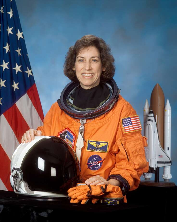 Ellen Ochoa, director of NASA's Johnson Space Center, to be inducted into the U.S. Astronaut Hall of Fame on May 19