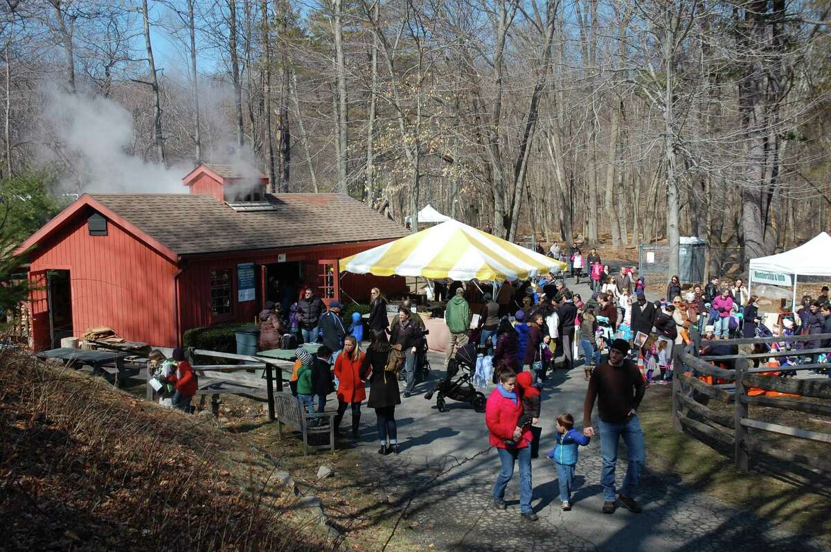 The sixth annual Stamford Museum & Nature Center Maple Sugar Festival Weekend will be from 11 a.m. to 3 p.m. Saturday March 4 and Sunday March 5 at the center at 39 Scofieldtown Road, Stamford. The festival is presented by First County Bank.