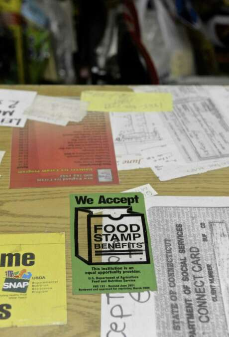 Do recipients of government food assistance load up on junk food? No more than those who don't. Photo: H John Voorhees III /Hearst Connecticut Media / The News-Times