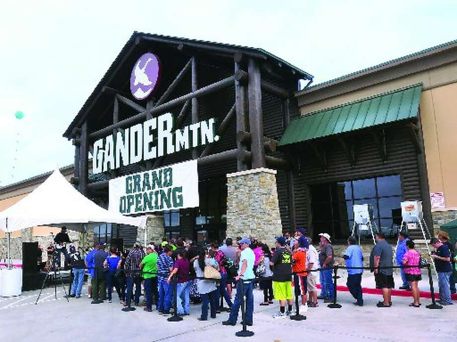 File photo of a Gander Mountain grand opening in Laredo.
