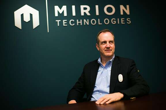 Chairman and Chief Executive Officer of Dosime Inc. and Mirion Technologies Thomas Logan photographed in San Ramon, Calif. Monday, February 13, 2017.