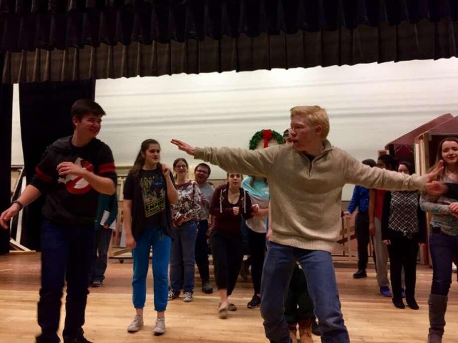 "Hudson Falls High School ""Disney's Beauty and the Beast."" Photo: Hudson Falls High School"