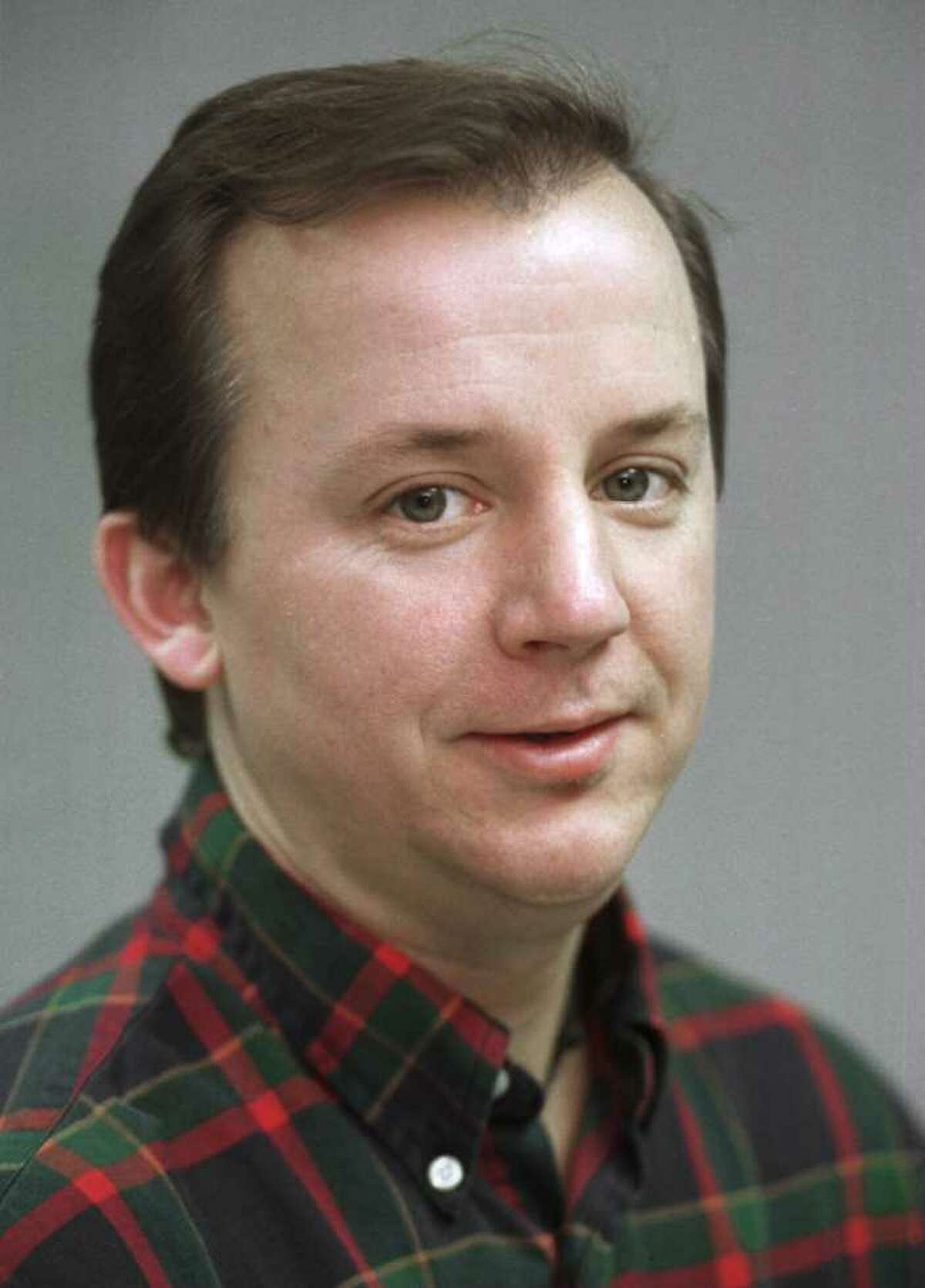 Times Union feature writer Paul Grondahl in 1995. (John Carl D'Annibale /Times Union)