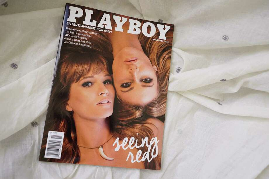 Playboy is bringing nudity back, a year after it told its models to put clothes back on. The announcement came from newly appointed chief creative officer Cooper Hefner, son of Playboy founder Hugh Hefner. Shown is a photo of the November 2015 issue. Photo: AFP /Getty Images /File Photo / AFP or licensors
