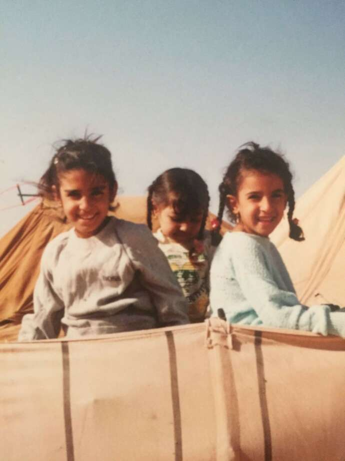 Asmaa Basry lived in a refugee camp in Rafha, Saudi Arabia, from 1991-93.Asmaa Basry lived in a refugee camp in Rafha, Saudi Arabia, from 1991-93. Photo: Asmaa Basry