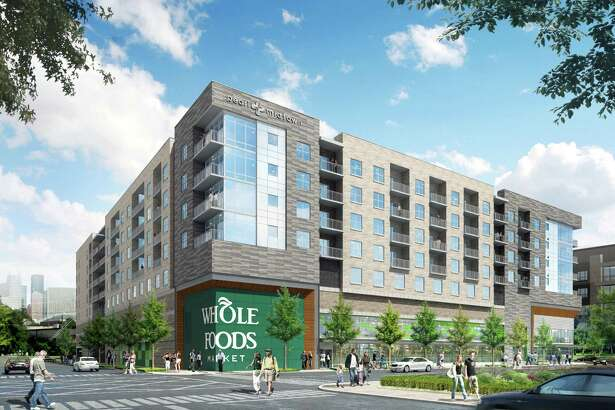 Morgan has started construction on its latest Pearl luxury apartment development in Houston's Midtown district at 3120 Smith St. The mixed-use project features a Whole Foods Market on the ground floor and 264 residential units above the store.